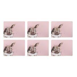 Set 6 Placemats Bathtime (30,5 cm.) - Pimpernel Wrendale