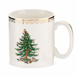 Mok (0,22 l.) - Spode Christmas Tree Gold