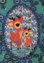 Ansichtkaart Hertjes - Froy & Dind