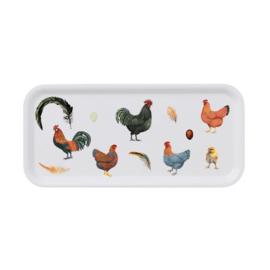 Dienblad Chickens (32 cm.) - Koustrup & Co.