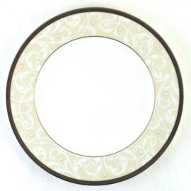 Ontbijtbord (20,9 cm.) - Noritake Satin Lace