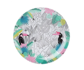 Bord Melamine Tropical Paradise Found (20,5 cm.) - Ginger