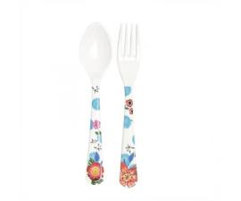 Vork & Lepel Melamine Summer Blossom Dots (19 cm.) - Ginger