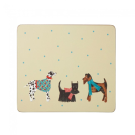Placemats (4) Hound Dog - Ulster Weavers