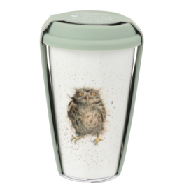 Travel Mug Owl (0,31 l.) - Wrendale Designs