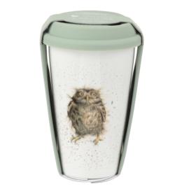 Travel Mug Owl (0,31 l.) - Wrendale Designs