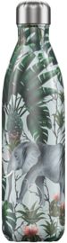 Thermosfles Tropical Elephant (750 ml) - Chilly's Bottle