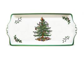 Sandwichbord (34 cm.) - Spode Christmas Tree