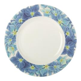Ontbijtbord Hydrangea (22,5 cm.) - Portmeirion Botanic Blooms