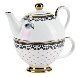 Tea for One Eyes & Lace - Miss Étoile