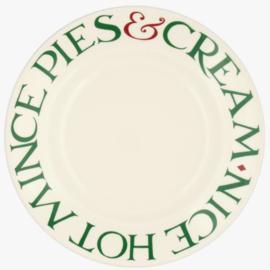 Ontbijtbord (22 cm.) - Emma Bridgewater Christmas Toast