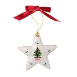 Kersthanger Ster - Spode Christmas Tree