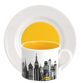 Theekop & Schotel New York (0,28 l.) - Portmeirion Cityscapes