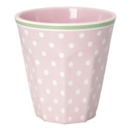 Melamine Beker Spot Pale Pink - GreenGate