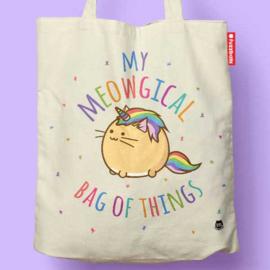 Tas 'My Meowgical Bag of Things' - Fuzzballs