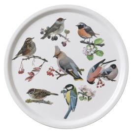 Dienblad Garden Birds (38 cm.) - Koustrup & Co.