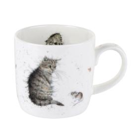 Mok Cat & Mouse (0,31 l.) - Wrendale Designs
