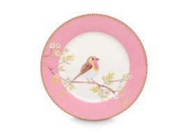 Ontbijtbord Early Bird Pink (21 cm.) - Pip Studio