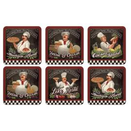 Onderzetters (6) - Pimpernel Chef's Specials