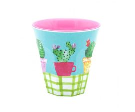 Beker Melamine Lovely Cactus (125 ml.) - Ginger