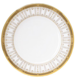 Ontbijtbord (24 cm.) - Noritake Chatelaine Gold