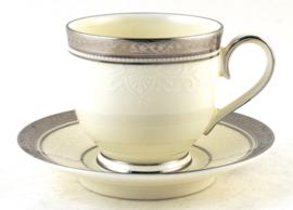 Espressokop & Schotel - Noritake Ardmore Platinum