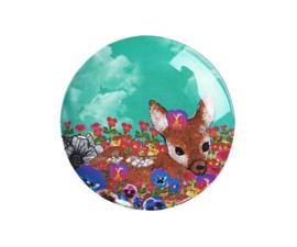 Bordje Melamine Wonderland Deer (12,7 cm.) - Ginger