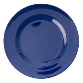 Melamine Dinerbord Navy Blue - Rice