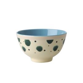 Melamine Schaal Watercolor Splash (11,3 cm.) - Rice