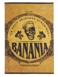Theedoek Banania Cacao (75 cm.) - Coucke