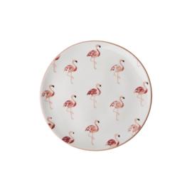 Aardewerk Gebaksbord Flamingo (16 cm.) - Rice