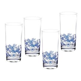 Kristallen Glas Hiball (0,42 l.) - Spode Blue Italian