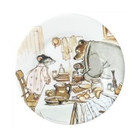 Bord Ernest & Celestine Cuisinent (20 cm.) - Petit Jour Paris