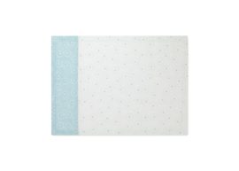 Theedoek Dotted Flower Blue - Pip Studio Early Bird