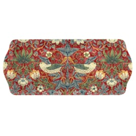 Sandwich Tray (38,5 cm.) - Pimpernel Strawberry Thief Red