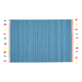 Bamboe Placemat Blue (40 cm.) - Rice