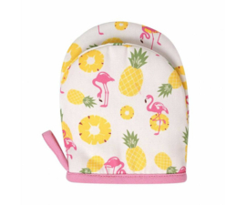 Kinderovenwant Pineapple & Flamingo - Ginger