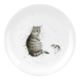 Bord Cat & Mouse (20,8 cm.) - Wrendale Designs