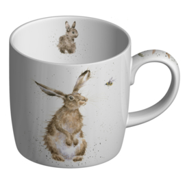 Mok The Hare & Bee (0,31 l.) - Wrendale Designs
