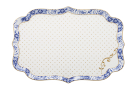 Serveerschotel Royal White (25,7 cm.) - Pip Studio