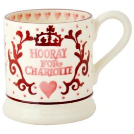 1/2 pt. Mug Princess Charlotte - Emma Bridgewater
