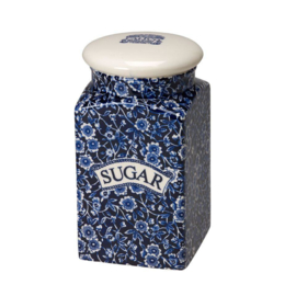 Sugar Voorraadpot Blue Calico - Burleigh