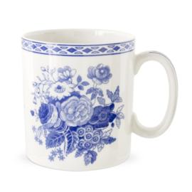 Mok Blue Rose - Spode Blue Room