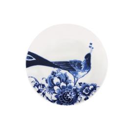 Gebaksbord Peacock Symphony (17,5 cm.) - Royal Delft