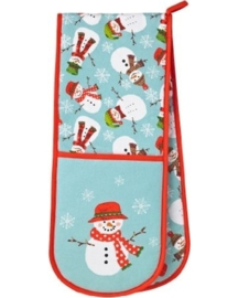 Dubbele Ovenwant Christmas Snowmen - Ulster Weavers