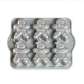 Gingerbread Kids Cakelet Bakvorm - Nordic Ware