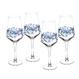 Wijnglas - Spode Blue Italian