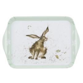 Melamine Dienblaadje Hare (21,2 cm.) - Pimpernel Wrendale