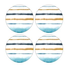 Set 4 Onderzetters - Pimpernel Coast
