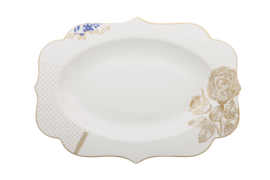 Serveerschotel Royal White (40 cm.) - Pip Studio